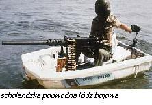 Scholandzka podwodna łódź bojowa.
