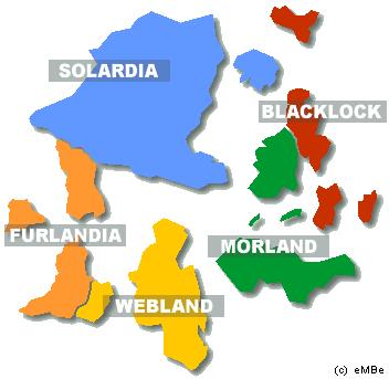 Podział administracyjny Dreamlandu
