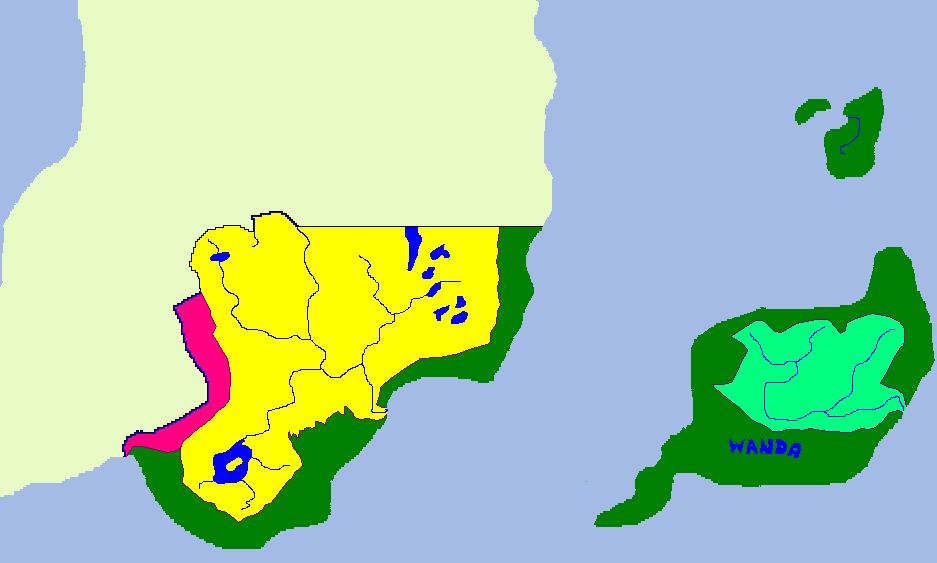 Dopływy głównych rzek