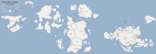 Mapa polityczna mikroświata