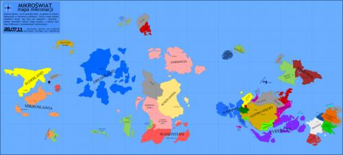 Mapa Mikroświata z 28 lipca 2011 r.