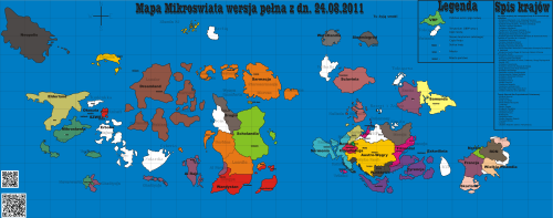 Mapa Mikroświata z 2011 r.
