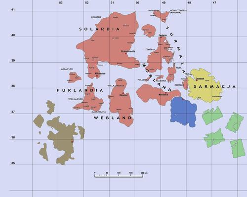 Mapa Mikroświata z 2003 r.